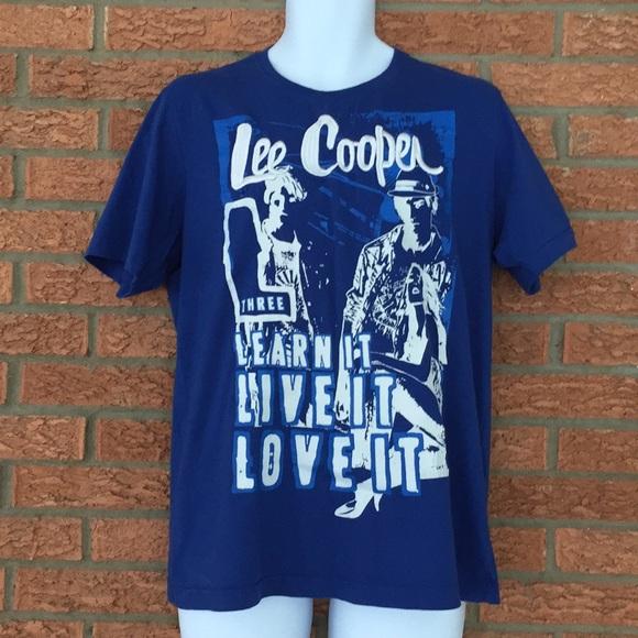 a51ba660e Lee Cooper Shirts   Classic Graphic Tee   Poshmark